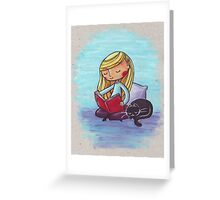 Peaceful Reading Greeting Card