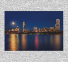 Boston's Blue Moon Skyline One Piece - Short Sleeve