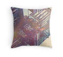 Le Bat Throw Pillow