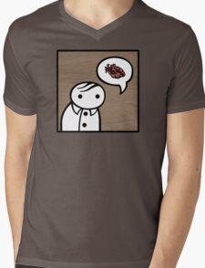 verge anatomically correctly loves you Mens V-Neck T-Shirt