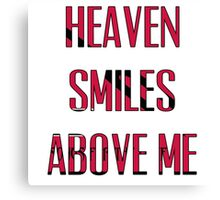 Queens of The Stone age - No One Knows - Heaven Smiles Above Me Canvas Print