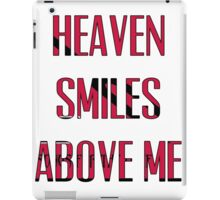 Queens of The Stone age - No One Knows - Heaven Smiles Above Me iPad Case/Skin