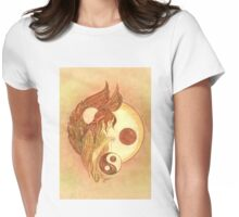 """""""THE LIBRA"""" - Protective Angel for Zodiac Sign Womens Fitted T-Shirt"""