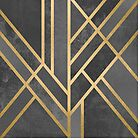 Art Deco Geometry 1 by Elisabeth Fredriksson