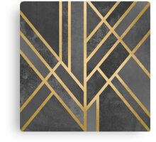 Art Deco Geometry 1 Canvas Print