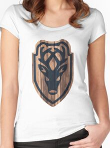 Falkreath Hold Shield Women's Fitted Scoop T-Shirt