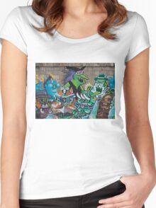 Wicked Green Witch Women's Fitted Scoop T-Shirt
