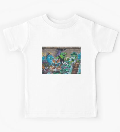 Wicked Green Witch Kids Tee