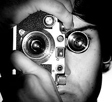 Self-Portrait with a Leica  by Nikanon