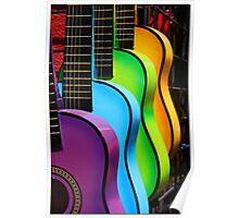 """""""Gitars"""" Poster"""