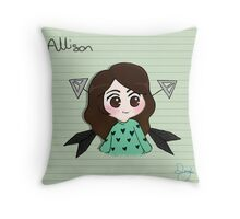 Ally A Saves the Day! Throw Pillow