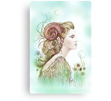 """THE ARIES"" - Protective Angel for Zodiac Sign Canvas Print"