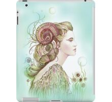 """THE ARIES"" - Protective Angel for Zodiac Sign iPad Case/Skin"