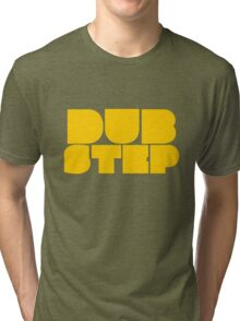 Dubstep yellow Tri-blend T-Shirt