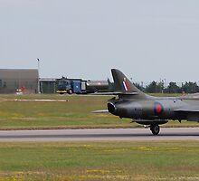 Hawker Hunter T.8B WV322 by Rees Adams