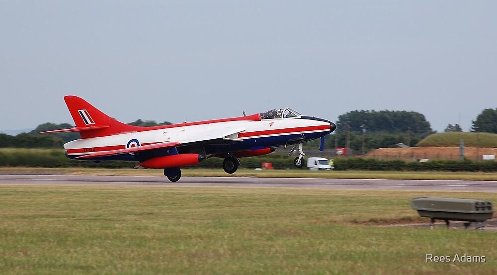 Hawker Hunter FGA.9 XE601 by Rees Adams