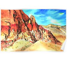 Red Rock Poster
