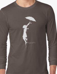 Hoppípolla White Long Sleeve T-Shirt