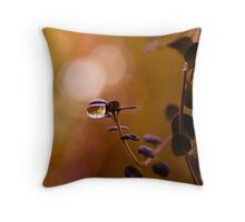 waiting to fall Throw Pillow