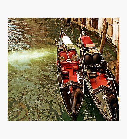 Jawning gondole Photographic Print