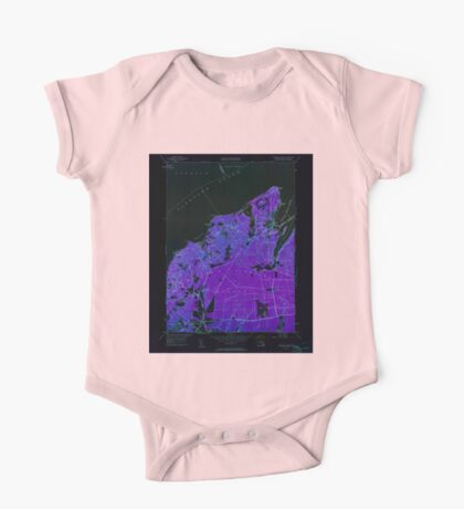 Massachusetts  USGS Historical Topo Map MA Vineyard Haven 350663 1951 24000 Inverted One Piece - Short Sleeve