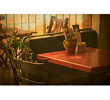 Ready to Open - (Mangiacake Panini Shoppe) Photographic Print