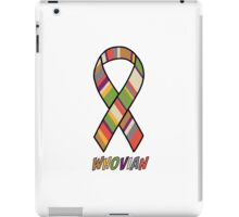 Whovian Awareness iPad Case/Skin