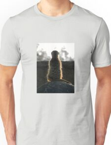 Meerkat Meditation Unisex T-Shirt