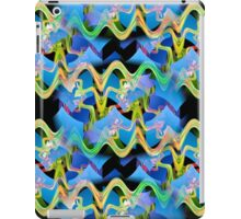 ©DA FS Waves In The Wall Of Life V2. iPad Case/Skin