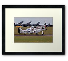 Big Beautiful Doll P-51D Mustang Framed Print