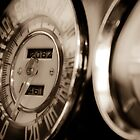 Classic Speedometer by Jeanne Sheridan