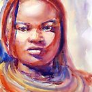 A Portrait A Day 5 - Himba woman by Yevgenia Watts