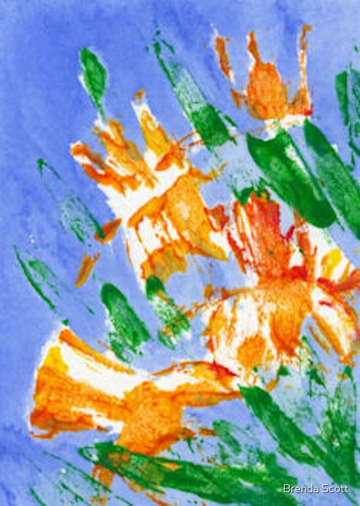 Daffodils by Brenda Scott