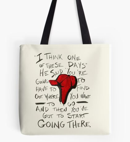 The Catcher in the Rye - Holden's Red Hunting Cap Tote Bag