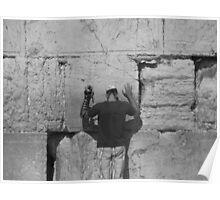 The Western Wall Jerusalem Poster