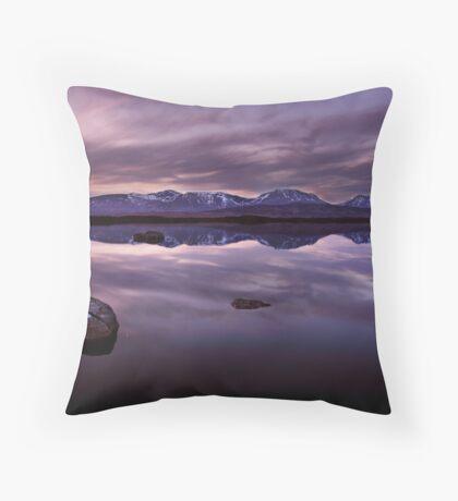 Loch Ba - The Highlands, Scotland  Throw Pillow