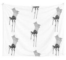 Star Wolf Wall Tapestry