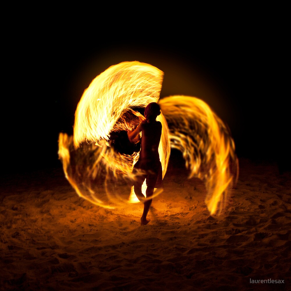 Playing with fire (4) by Laurent Hunziker