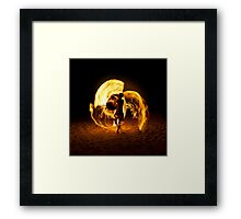 Playing with fire (4) Framed Print