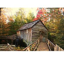 Cable Grist Mill ~ Cades Cove Tennessee Photographic Print