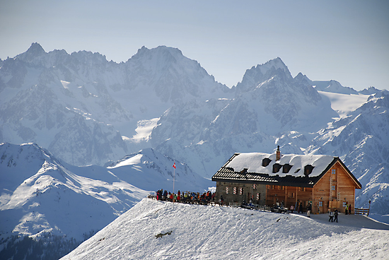 Cabane du Mont Fort, Verbier, Switzerland by Catherine Ames