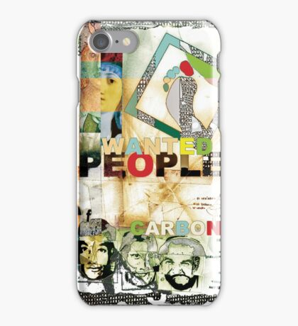 People of Carbon. iPhone Case/Skin