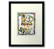 People of Carbon. Framed Print