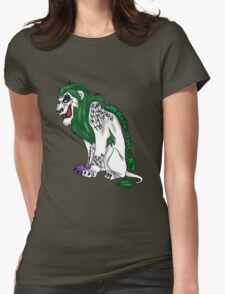 Scar as Joker Womens Fitted T-Shirt