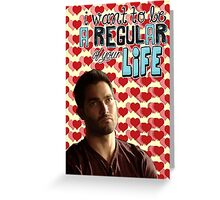 Season 5 Teen Wolf Greeting Cards [Derek] Greeting Card