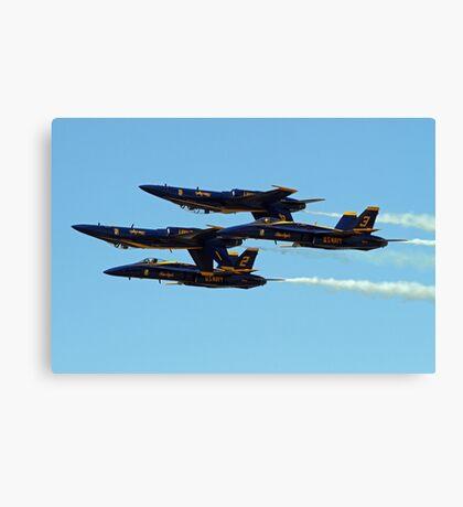 The Blue Angels Canvas Print