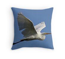 Beauty in Flight Throw Pillow