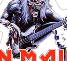 Iron Maiden  - Logo and Eddie Sticker