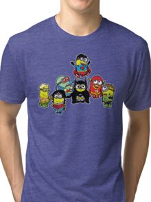 Justice League of Minions Tri-blend T-Shirt