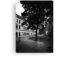 Nikolaikirchplatz Canvas Print